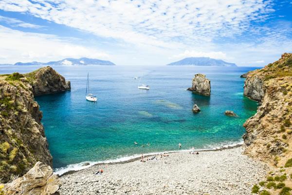 Splendide spiagge di Panarea
