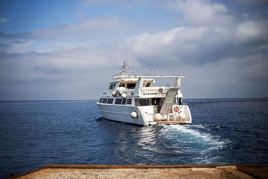 Comerci Navigazione - partenza nave